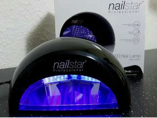 (29)NailStar Professional LED Nail Dryer Nail Lamp for Gel Polish with 30sec, 60sec, 90sec and 30min Timers (Black)