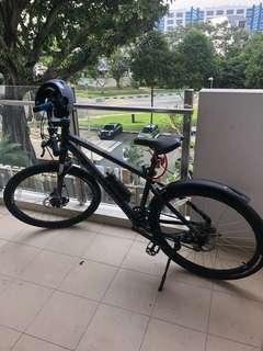 B-twin rockrider 520 bicycle