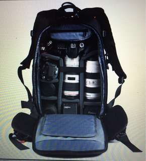 USED CAMERA BACKPACK / 99% NEW
