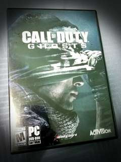 USED PC Call of Duty Ghost Shooting Game