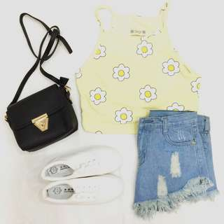 Yellow Daisy Crop