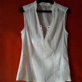 Blouse Zara Putih