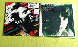 JIMMY CLIFF ● JACK GREEN . the power and the glory / reverse logic ( buy 1 get 1 free )   vinyl record
