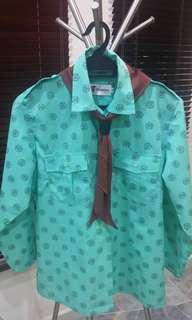 Pandu Puteri Uniform