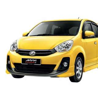 Car For Rent RM 100
