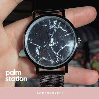 [INSTOCK] Black Marble Watch