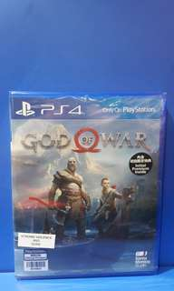 Ps4 Game God Of War New