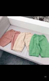 🚚 三色蘿蔔褲