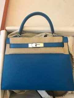 K28 B3 藍色外縫銀扣 C年
