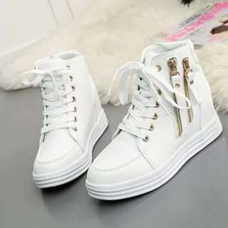 Korean Wedge Sneakers