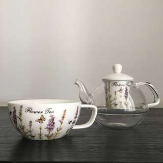 Tea pot / tea set unik bagus