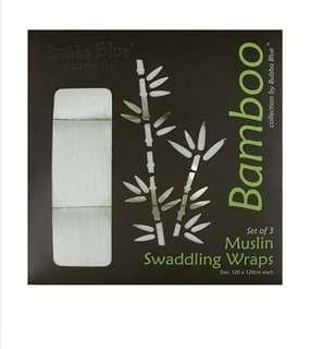 Bamboo Muslin Wrap 3PK
