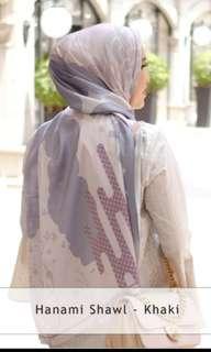 Hanami Shawl in Khaki