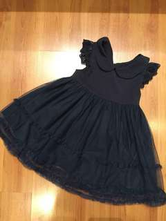 18-24m Dark Navy Blue Dress