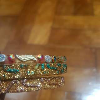 15% off!! Indian bangles