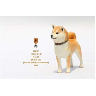 [PRE ORDER] MR.Z - Real Animal Series No.27 - Japanese Shiba Inu 001 - 1/6 Collectible Figure