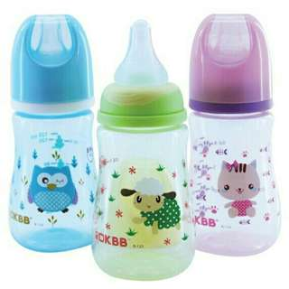 *FREE DELIVERY to WM only / Ready stock*  Baby milk bottle 4oz bpa free each B-123 as shown in design/color.  Free delivery is applied for this item.