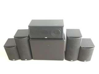 Miller Kreisel M&K THX 5.1 surround (THX 750 LCR, 550 LR Surround, MX-700 Subwoofer)
