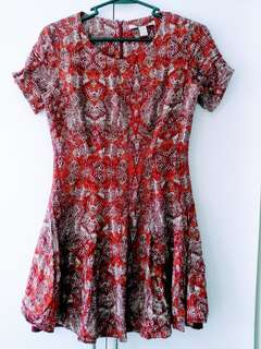 Forever21 Red casual dress