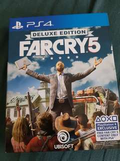 Farcry 5 Deluxe Edition