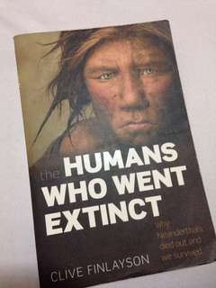 The Humans Who Went Extinct by Clive Finlayson