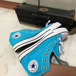 <INSTOCK> SIZE 39 Converse Turquoise