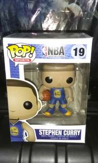 [PRE-ORDER] Stephen Curry Blue Jersey Golden State Warriors Funko Pop
