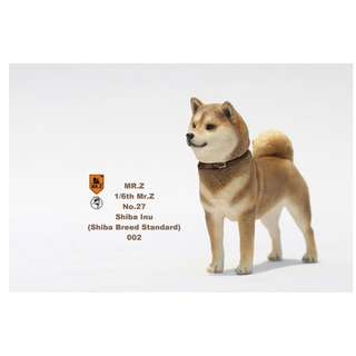 [PRE ORDER] MR.Z - Real Animal Series No.27 - Japanese Shiba Inu 002 - 1/6 Collectible Figure