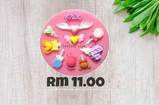 Fondant Mold Mini Lolipop
