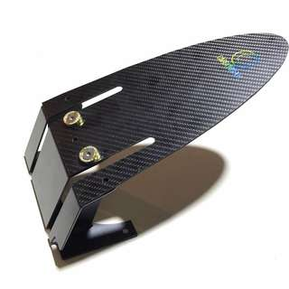 CarbonRevo Carbon Fibre Rear Mudguard for Speedway 3, Inokim Quick