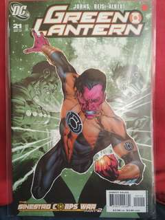 DC Green Lantern Unread