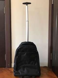 Multi function bag - backpack or trolley bag