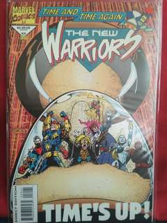 The New Warriors Marvel