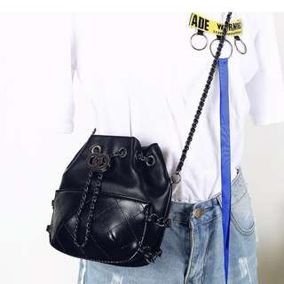 RTP $36.90 Chain Sling Bag in BLACK (Free normal mail)