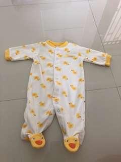 [Brand New] (3M) Carters Sleepsuit