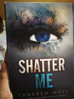 Shatter Me Series by Tagereh Mafi
