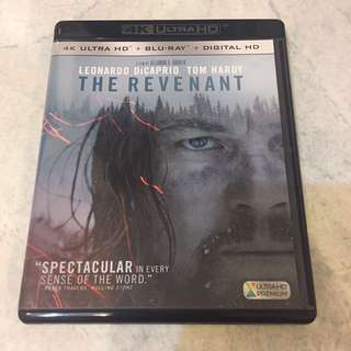 The Revenant 復仇勇者 美版英字 4k bluray+bluray 95% new