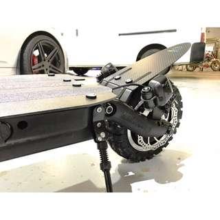 CarbonRevo Dualtron Ultra Carbon Fibre Rear Mudguard