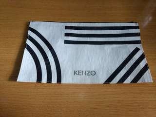 KENZO 防水面料拉鏈袋