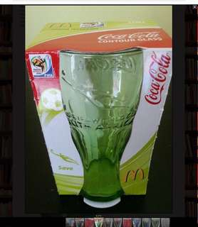 (B) Selling : Collectible Coca Cola CONTOUR Glasses 2010 FIFA WORLD CUP  Embossed with the classic Coca-Cola and 2012 FIFA WORLD CUP SOUTH AFRICA