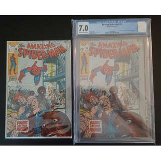"Amazing Spider-Man #99,#99 CGC 7.0 (1971, 1st Series) Set of 2, Written by STAN LEE! Bronze/Silver Age Collectibles! ""One To Read,One To Keep"" Series."