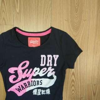 🚚 Superdry 極度幹燥 短袖修身T桖