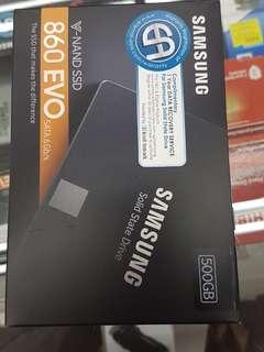 """Samsung 860 evo 500gb sata 2.5"""""""