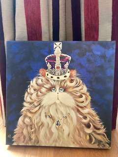 Print on Canvas: Queenie by Kim Haskins bought from London