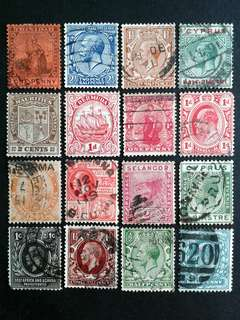 British colonies stamps#21