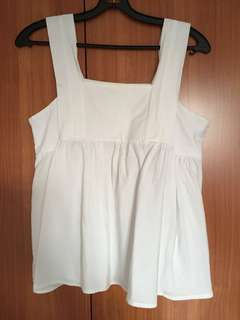 Taiwan white top (1 for $3, 3 for $7)