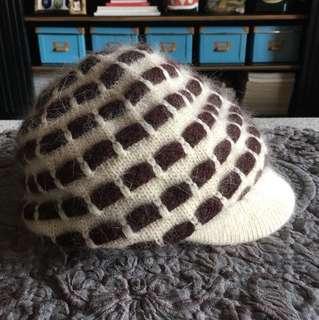 🚚 兔毛毛帽