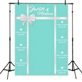 Customisable Wedding Photobooth Backdrop