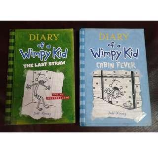 Wimpy Kid bundle of 2