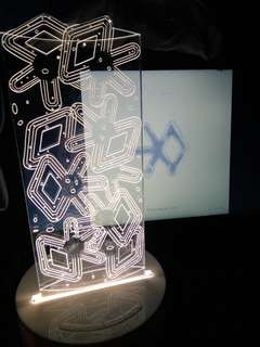 Exo For Life Table Lamp *Brand New